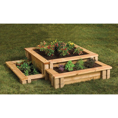 How to build the easiest raised bed