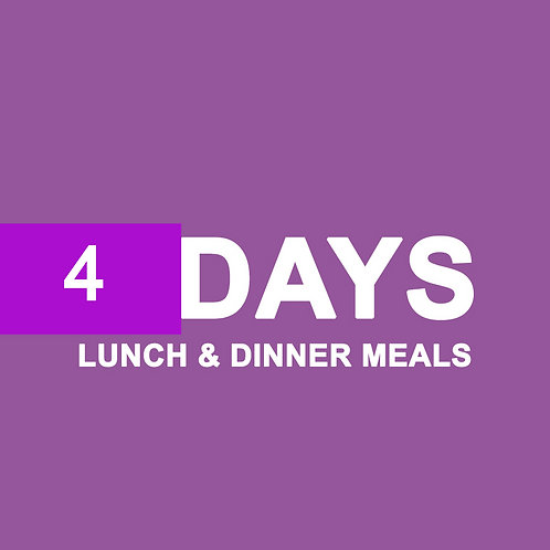 8 LUNCH/DINNER MEALS