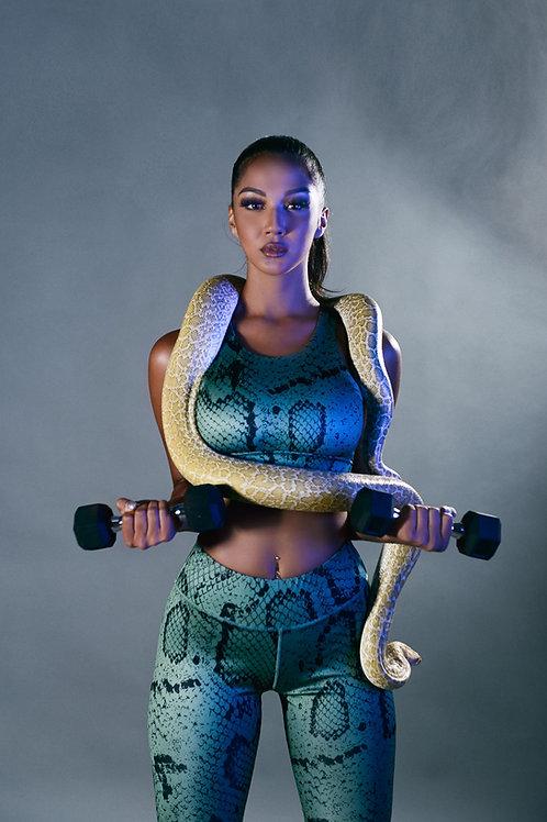womens muscle tank workout