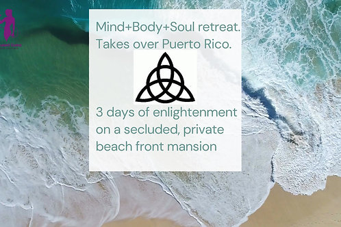 Mind+Body+Soul Puerto Rico Retreat
