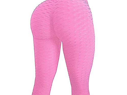 Booty Enhancing Workout Leggings-Pink
