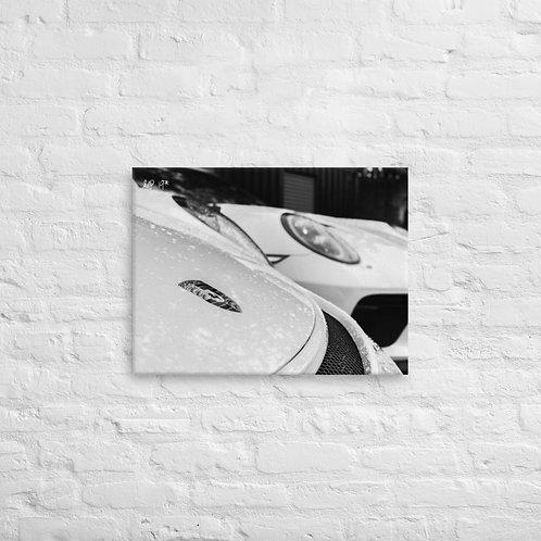 White Horses Canvas