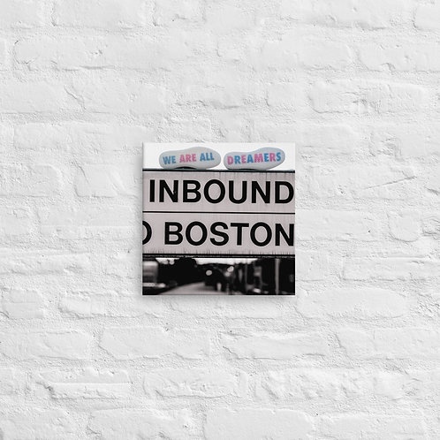 InBound to Boston Canvas