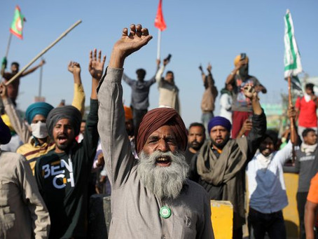 THE INDIAN FARMERS PROTESTS