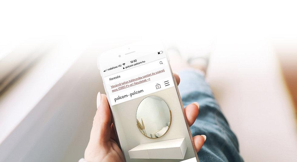 lebegő sminkasztal mobil