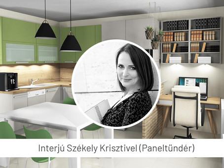 Otthonosan panelben is – interjú a Paneltündérrel