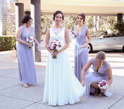 Claire & Bridesmaids