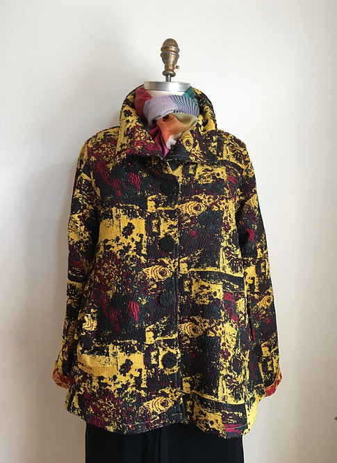 Tapestry Car Coat