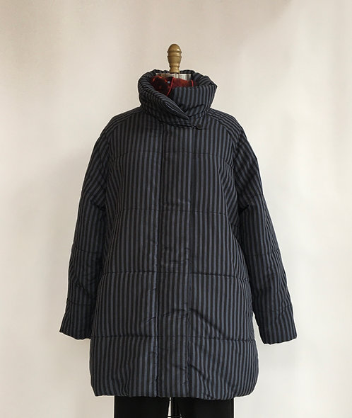Striped Puffer Jacket