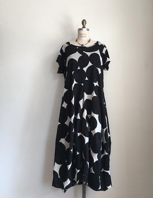 Rundholz Short Sleeved Dot Dress
