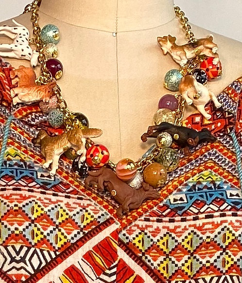 Dog Charm Necklace