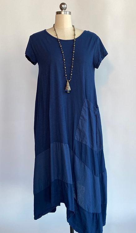 Saga Cap Sleeve Dress