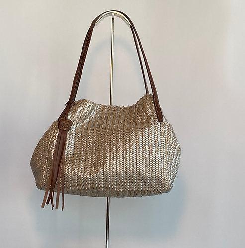 Eric Javits Silver Bag