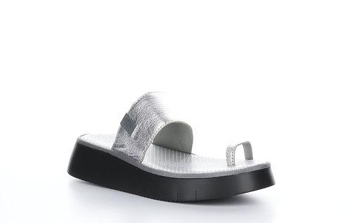 Silver Toe ring Sandal