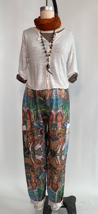 Drawstring Jungle Pants