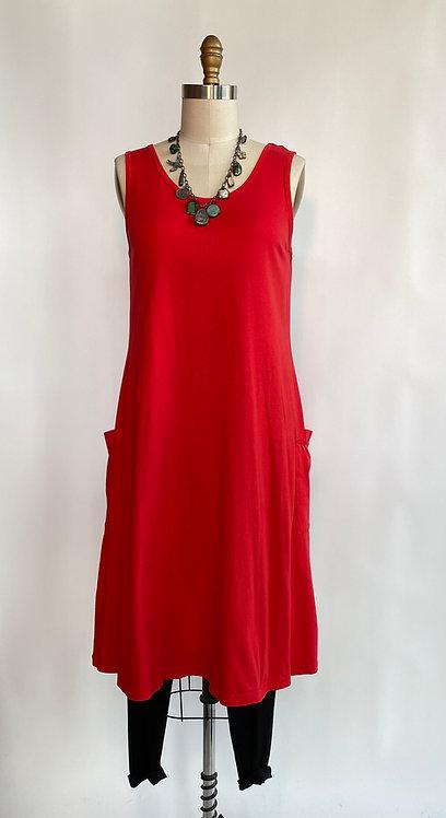 Knit A Line Dress with Pockets