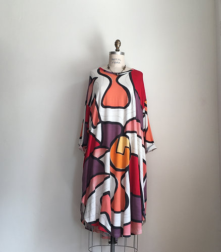 Ralston Colorful Abstract Dress