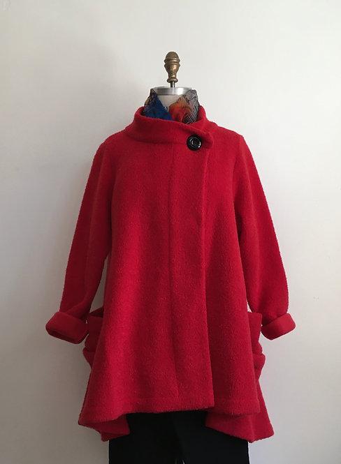Boucle Fleece Coat