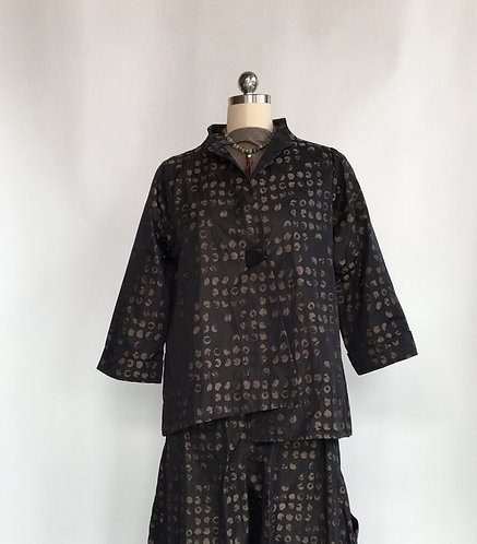 Sun Kim Dotted Short Japanese Inspired Jacket
