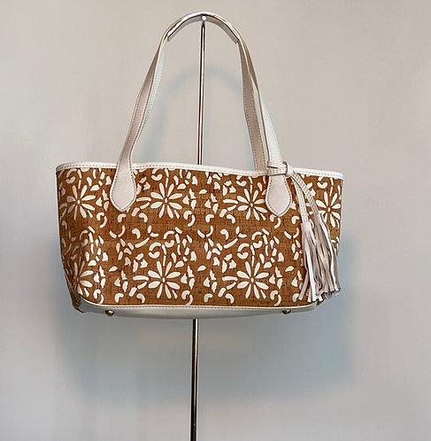 Small Buco Cork/Leather Bag