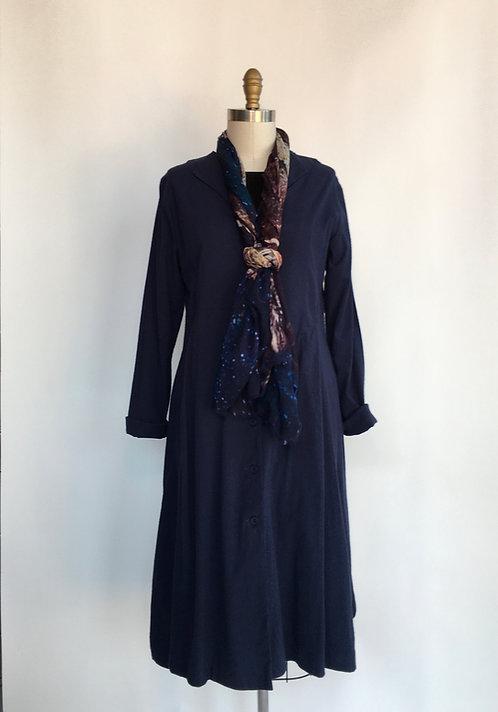 V-neck A-line Dress/Coat