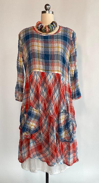 Bodil Plaid Dress