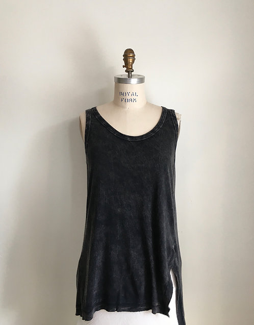 Chalet Black Wash Long Tank