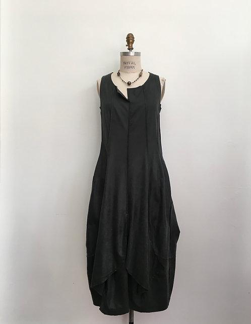 Rundholz Panel Suede Dress