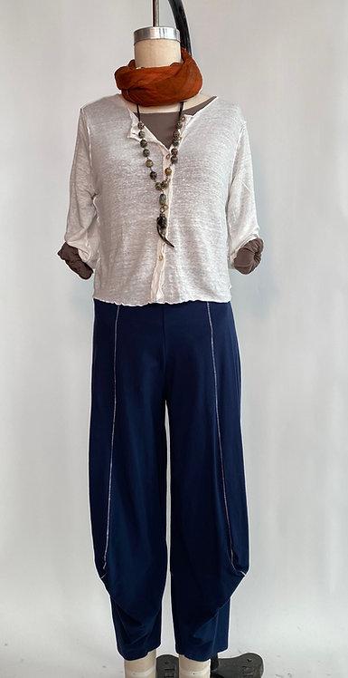 Knit Blue Pants
