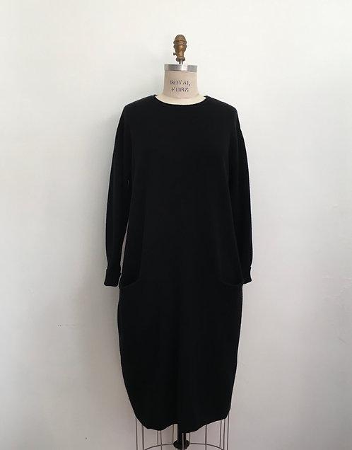Two Pocket Sweater Dress