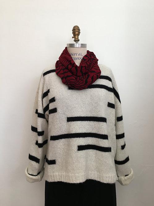 Boatneck Alpaca Sweater