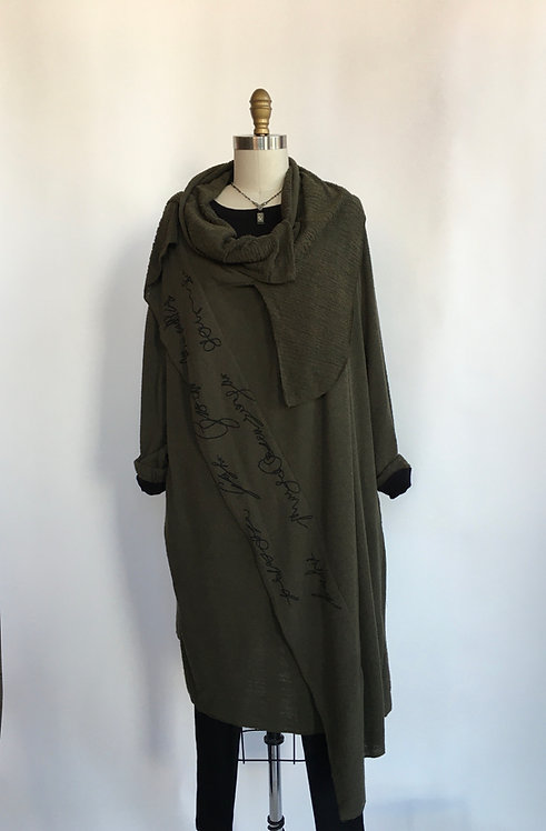 French Terry Layered Duster