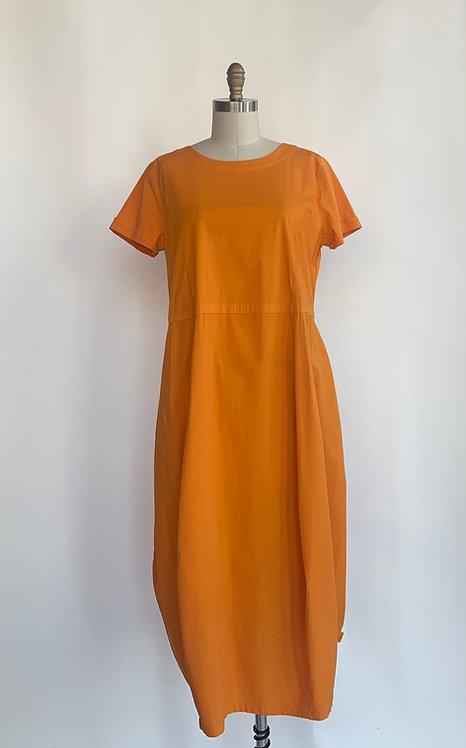 Orange Organic Cotton Dress