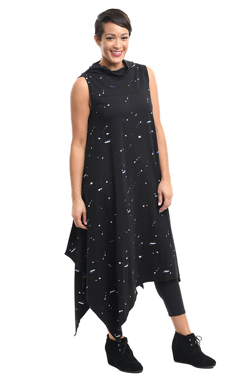 Tulip Space Print Dress