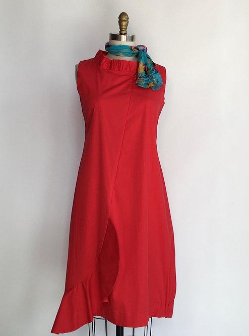 Etna Maar Zip Front Cotton Dress