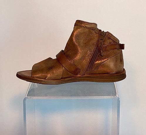 Miz Mooz Bronze Gladiator Sandal