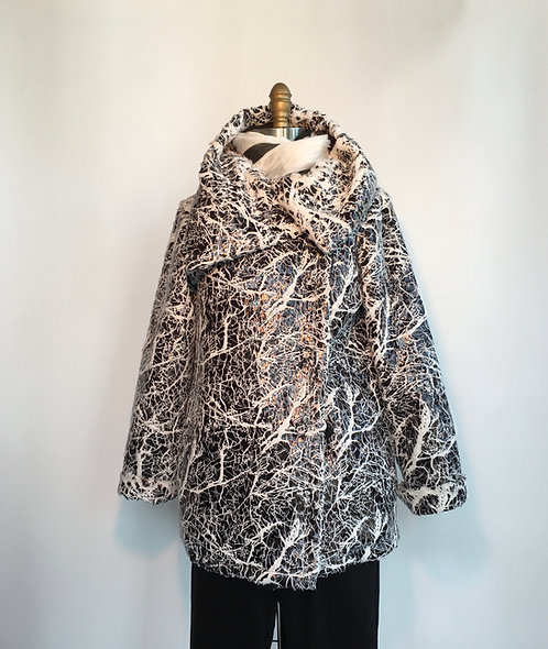Crackle Puffer Jacket
