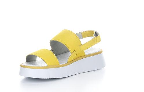 Lemon Yellow Strap Sandall