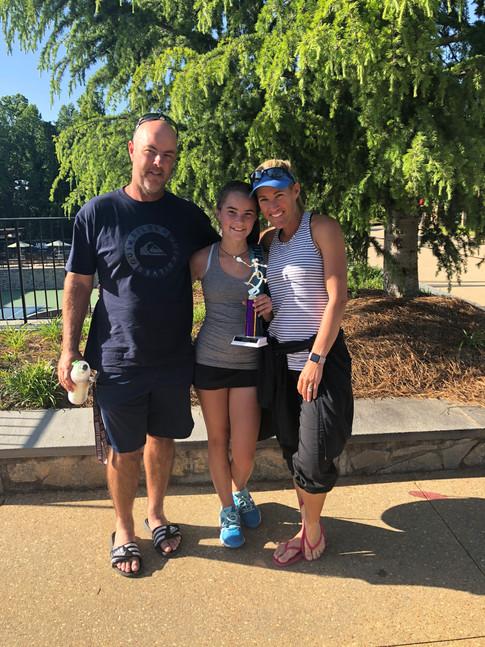 Elle Sceney 14U Winner of One Love Tournament