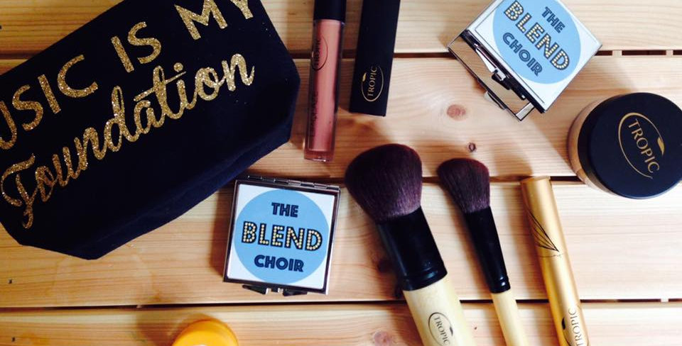 The Blend Choir Compact Mirror