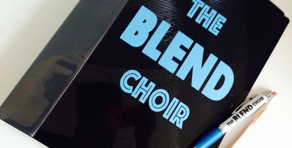 The Blend Choir Folder