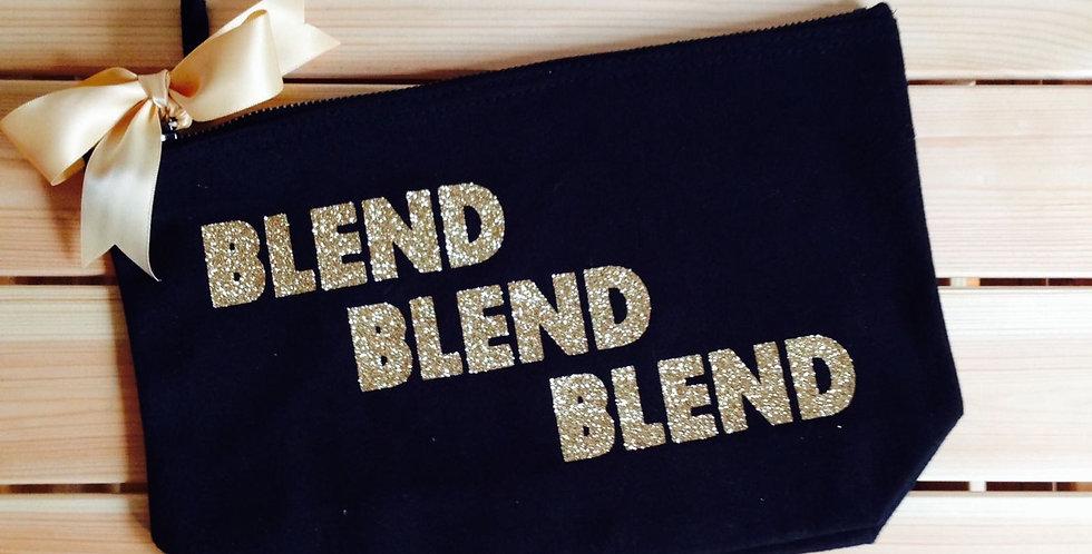 'Blend, Blend, Blend' Make up bag
