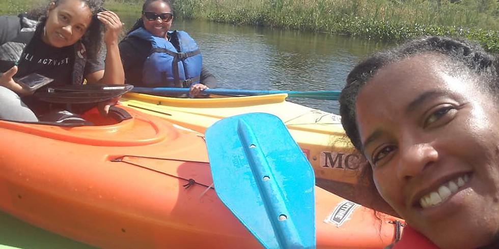 Browns, Blacks & Kayaks!