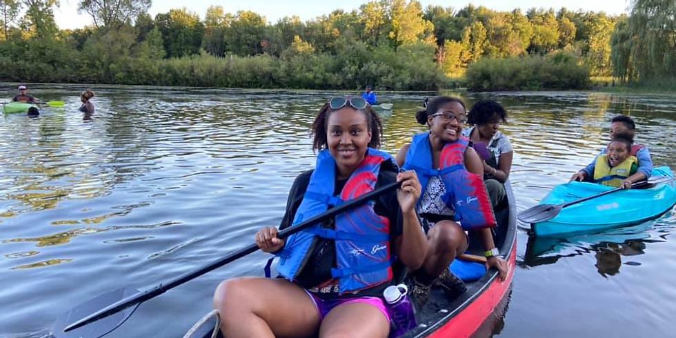 Browns, Blacks and Kayaks!