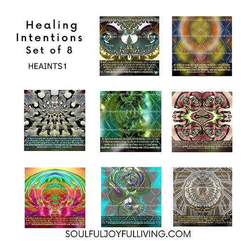 Healing Intentions - Set of 8