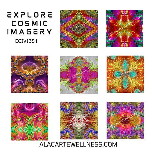 Explore Cosmic Imagery -Vibrancy Set