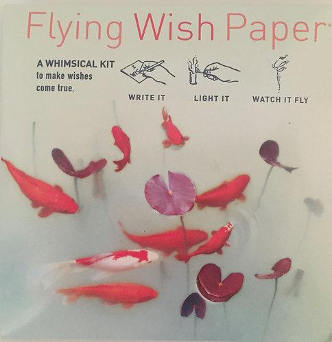 Flying Wish Paper - Koi