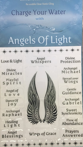Angels Of Light Water Blessings Labels