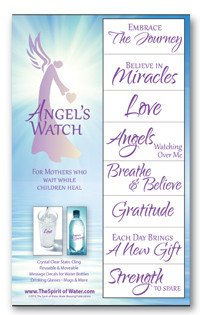 Angel's Watch Water Blessings Labels