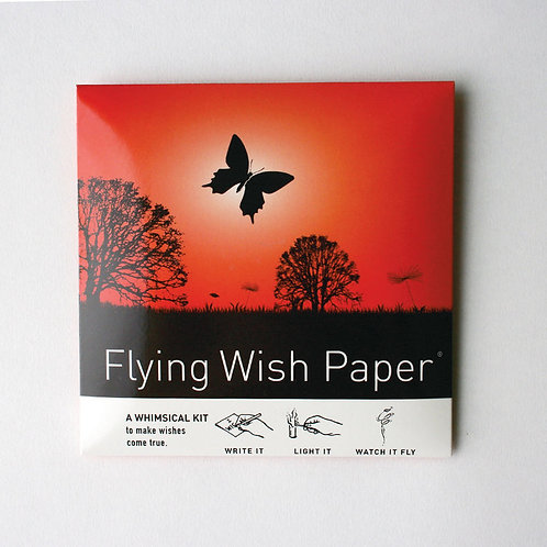 Flying Wish Paper - Butterfly